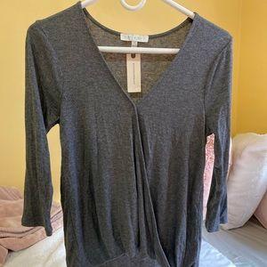 eri + ali grey top
